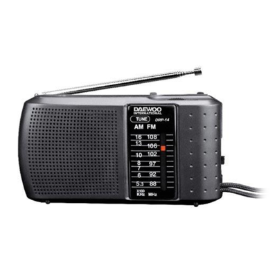 RADIO PORTATIL DAEWOO DRP14 PILAS AM/FM