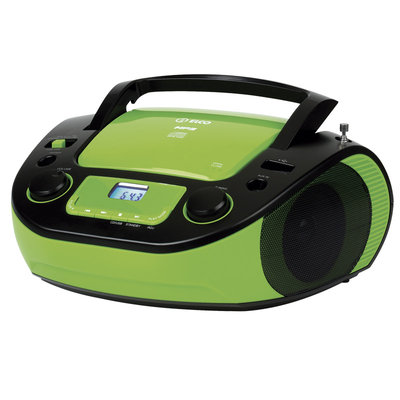 RADIO CD ELCO PCD33 VERDE MP3 USB