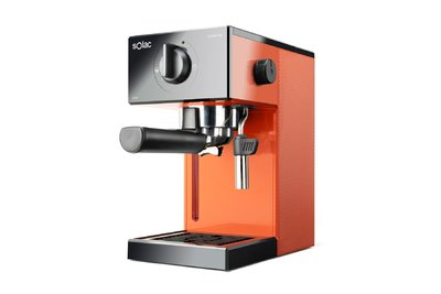 CAFETERA EXPRESS SOLAC CE4503 20 BAR MON.SQUISSITA EASY NARANJA